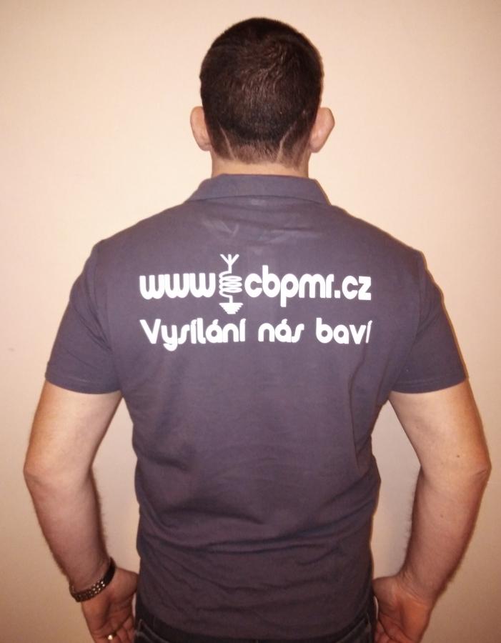 Propagační tričko cbpmr.cz