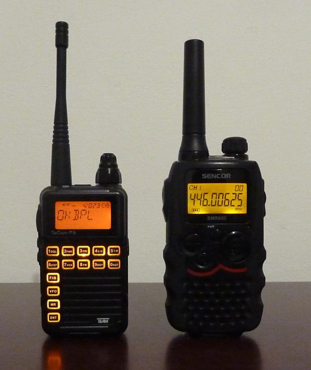 TeCom PS versus Sencor SMR 600