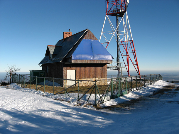 Stóg Izerski vrchol