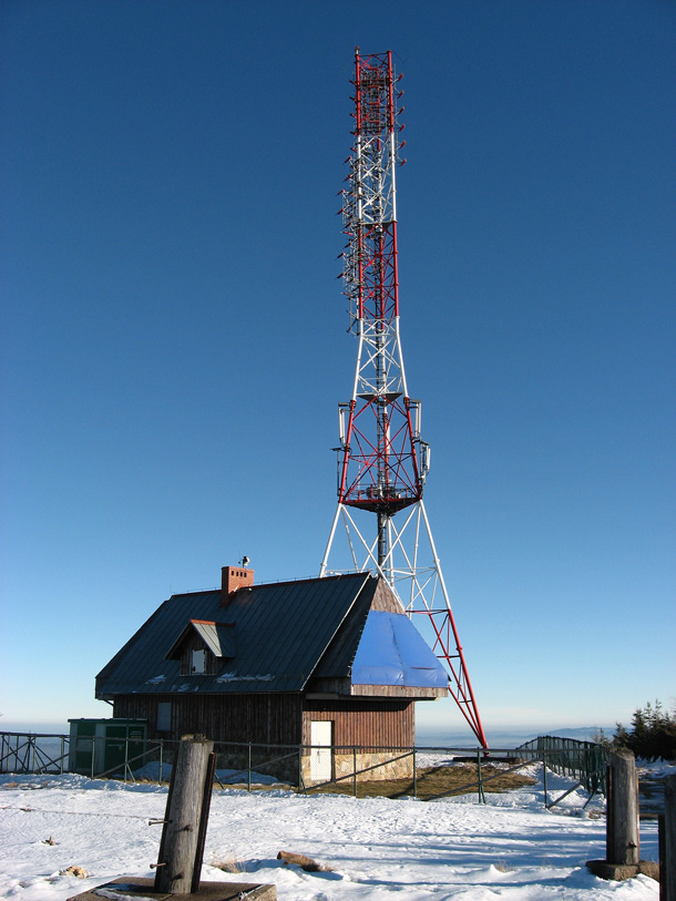 Stóg Izerski vysílač