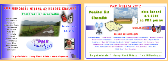 PMR vysílačky - soutěže