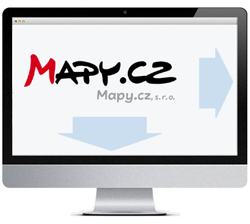 Mapy.cz - lokátorová mapa