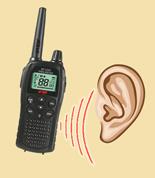 Poslouchání PMR provozu