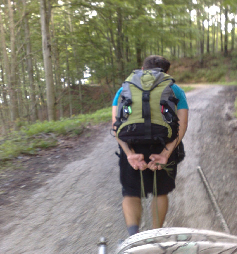 Cestou do kopce